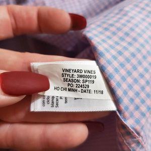 Vineyard Vines Shirts & Tops - Vineyard Vines Boys Gingham Long Sleeve Shirt